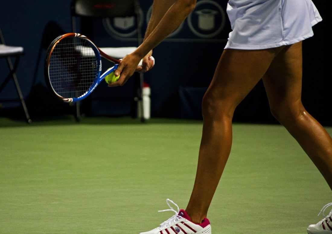 person woman sport ball